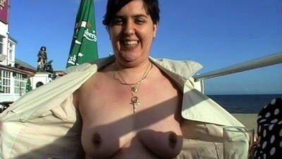 Bbw Beach Flasher